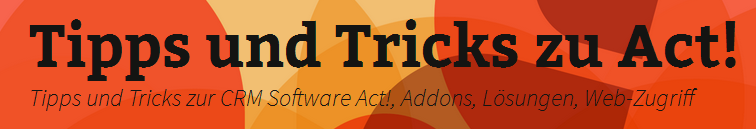 365 Tipps und Tricks zu Act!