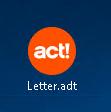 Act! Vorlagen
