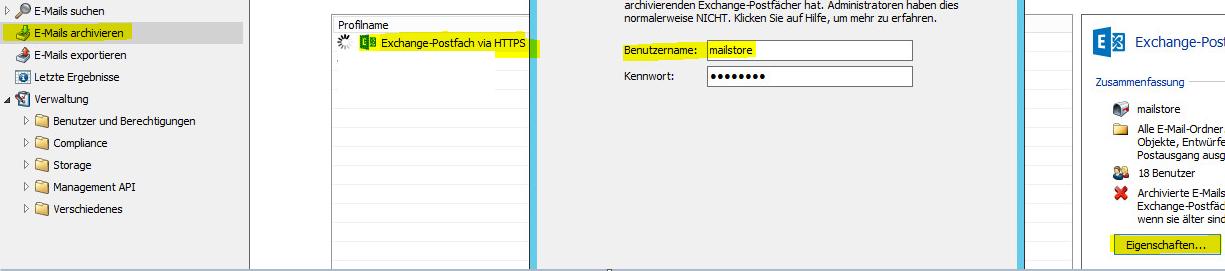 Mailstore Exchange User herausfinden - Powered by Kayako Help Desk ...