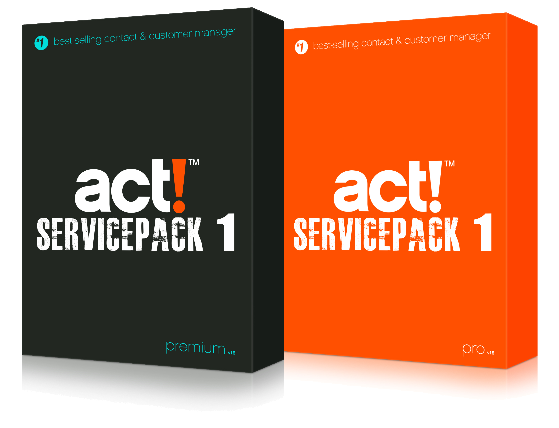 Servicepack 1 für Act! v16
